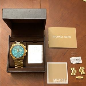 Michael Kors Stop Hunger Watch Mint Condition!